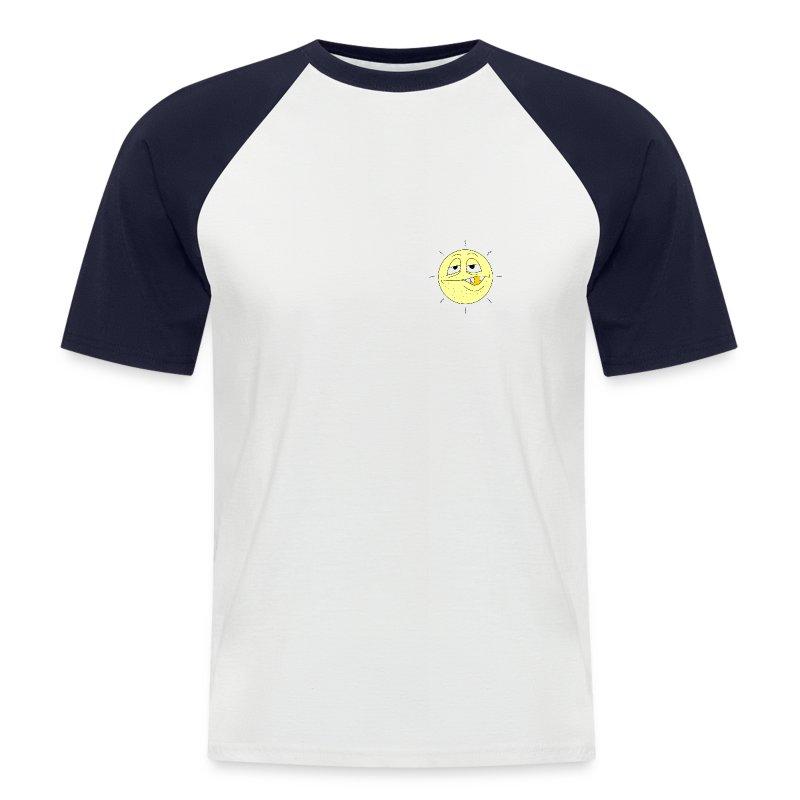 *abstink* Shirt - Männer Baseball-T-Shirt