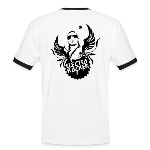 Mens Slim Contrast Tee Electro Rocker - Männer Kontrast-T-Shirt