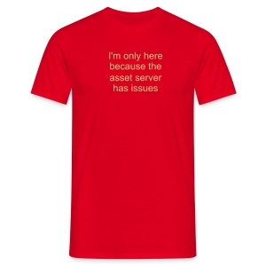 Asset server issues - Men's T-Shirt