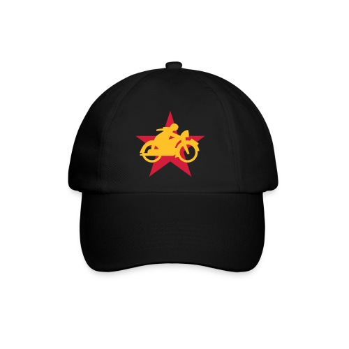 Cycle Red Star Cap - Baseballkappe