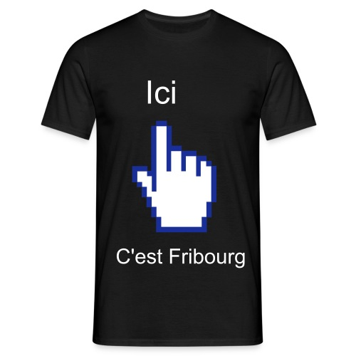 Supporter Fribourg - T-shirt Homme