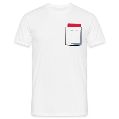 T-Shirt Rote Karte - Männer T-Shirt