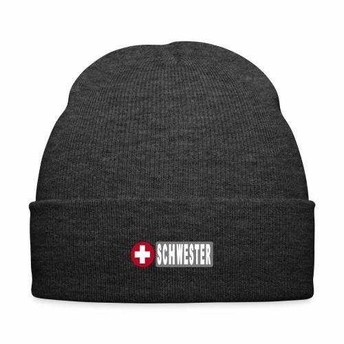 Mütze Krankenschwester - Wintermütze