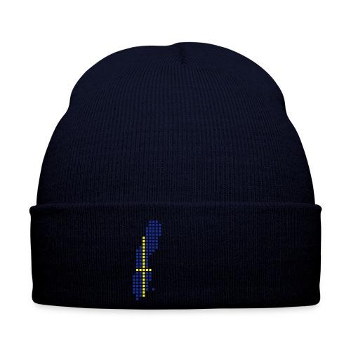 Blå Sverige Lue - Vinterlue
