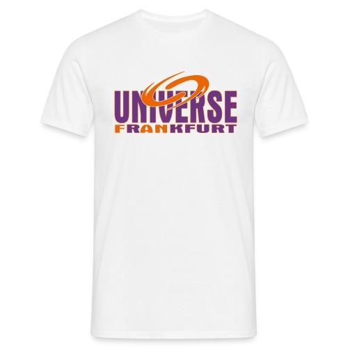 Universe Weiss Uni - Männer T-Shirt