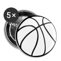 White Basketball Sport Accessories