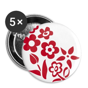Flower - Badge petit 25 mm