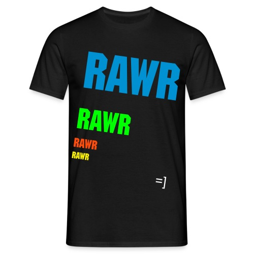 Fading Rawr. - Men's T-Shirt