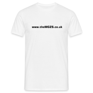 theMGZS.co.uk T-Shirt (white) - Men's T-Shirt