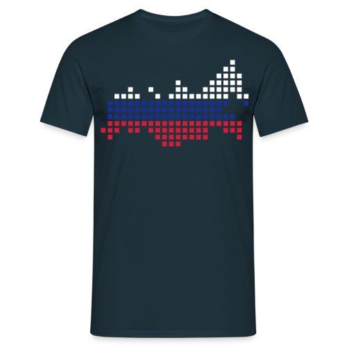 Russia pixel T-skjorte - T-skjorte for menn