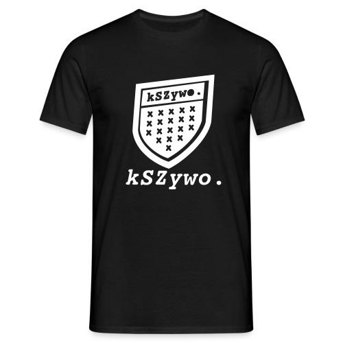 Krzywo - prawie jak PROSTO - Koszulka męska