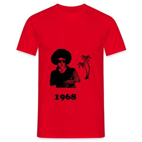 The dude from 1968 - Men's T-Shirt