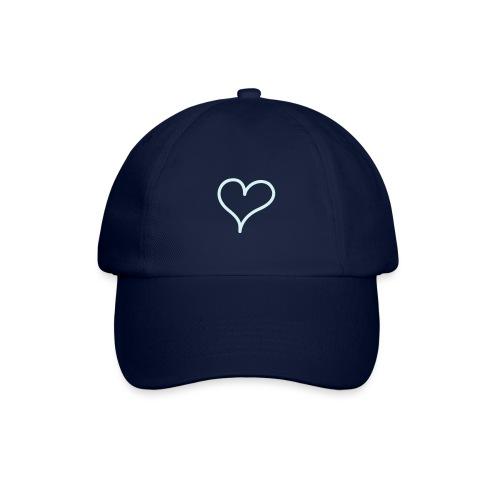 casquette coeur bleu - Casquette classique