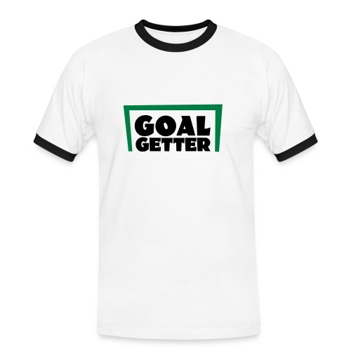 GOALGETTER - Männer Kontrast-T-Shirt