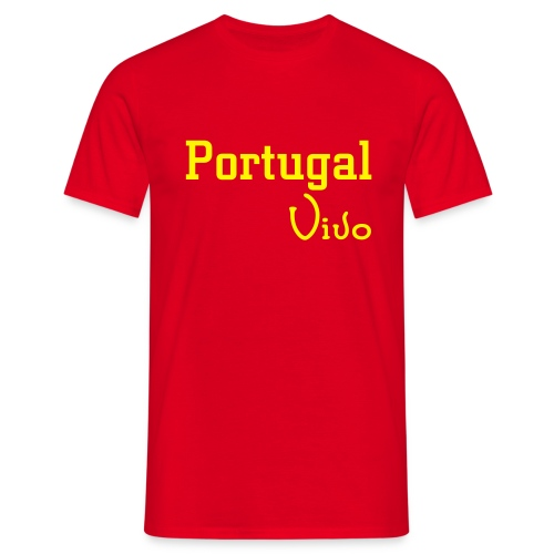 PortugalVivo - Confort-T Rouge H - T-shirt Homme