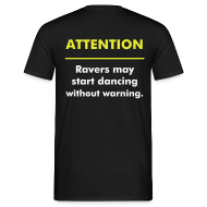 T-Shirts ~ Männer T-Shirt ~ Attention