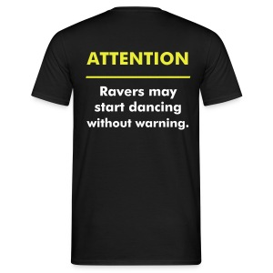 Attention - Männer T-Shirt