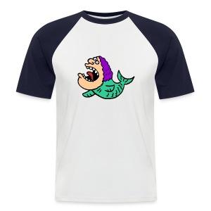 Good Old *tripschieb* - Männer Baseball-T-Shirt