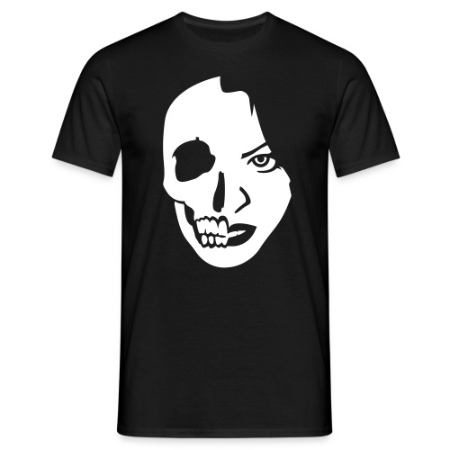 Face Skull and T-Virus - Männer T-Shirt