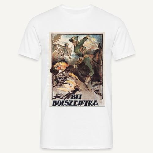 Bij bolszewika! - Koszulka męska