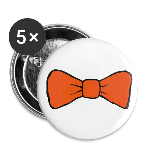 Bow Tie 25mm Badges  - Buttons small 25 mm