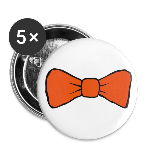 Bow Tie 56mm Badges  - Buttons large 56 mm