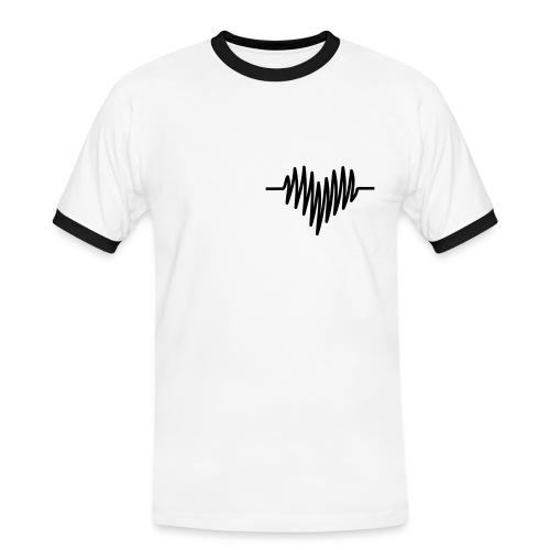 Mon coeur - T-shirt contrasté Homme