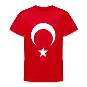 Çocuk Ayyıldız kırmızı - Teenager T-Shirt