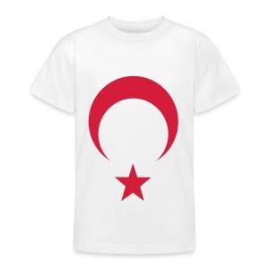 Çocuk Ayyıldız beyaz - Teenager T-Shirt
