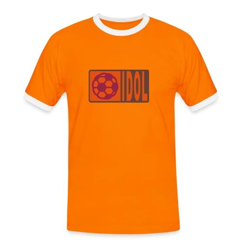 Fussballidol - Männer Kontrast-T-Shirt