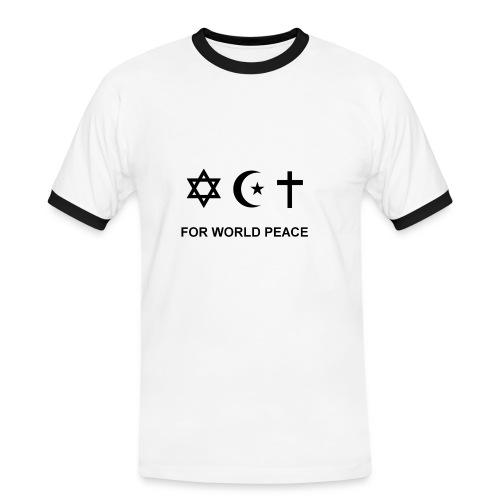 For World Peace - T-shirt contrasté Homme