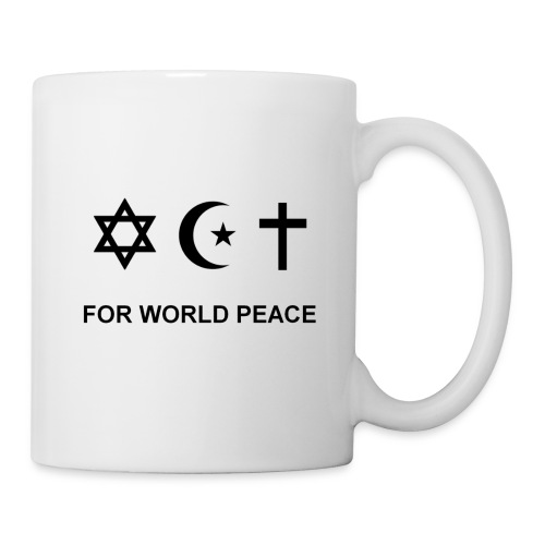 For World Peace - Mug blanc