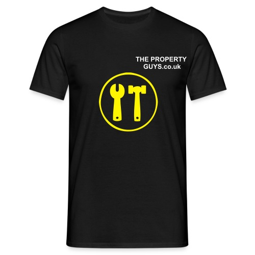 Mens Construction T-Shirt - Men's T-Shirt