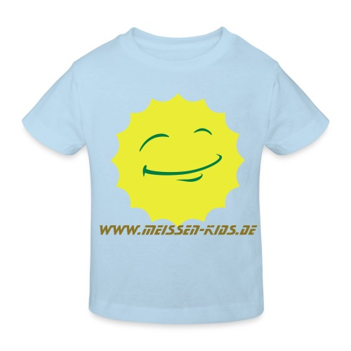 Fun Shirt hellblau - Kinder Bio-T-Shirt