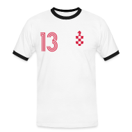 T-Shirts ~ Männer Kontrast-T-Shirt ~ ZUPO LITIC 13