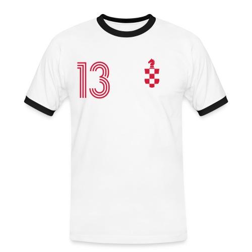 ZUPO LITIC 13 - Männer Kontrast-T-Shirt
