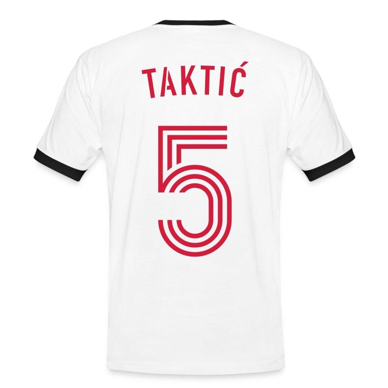 TAKTIC 5 - Männer Kontrast-T-Shirt