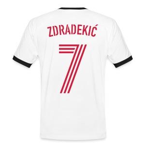 ZDRADEKIC 7 - Männer Kontrast-T-Shirt