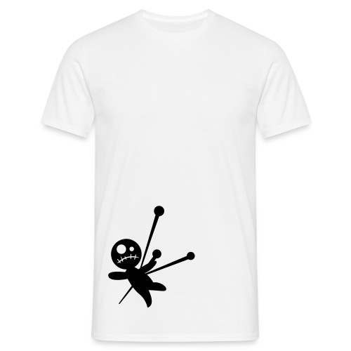 Men's, Voodoo Doll, White, Comfort T - Men's T-Shirt