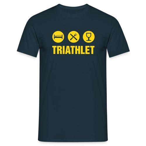 Easy Triathlet - Männer T-Shirt
