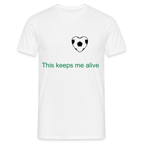 This keeps me alive - Mannen T-shirt