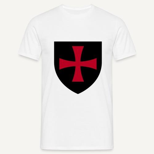 Krzyż z czasów wypraw krzyżowych - Koszulka męska