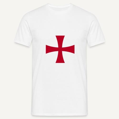Krzyż z epoki wypraw krzyżowych - Koszulka męska