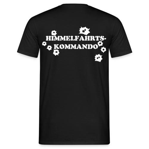 HIMMELFAHRTSKOMMANDO 2008 - Flockdruck - Männer T-Shirt