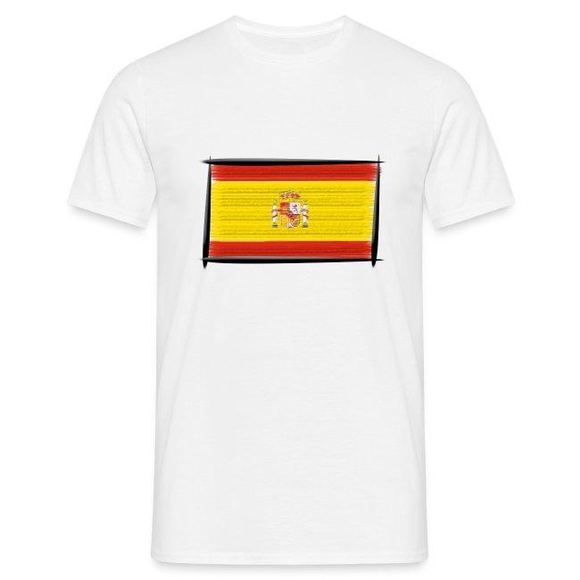 Russland T-Shirt Herren Fußball Sport WM EM Fahne National-Flagge Fan-Artikel