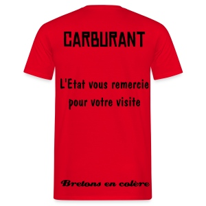 Carburant - T-shirt Homme