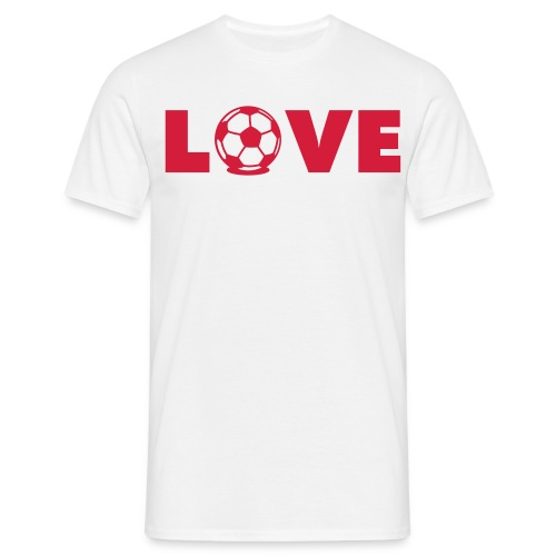 Love Football - Men's T-Shirt