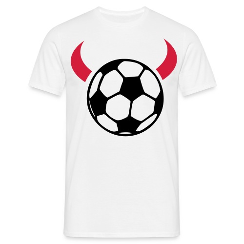 man u ball - Men's T-Shirt
