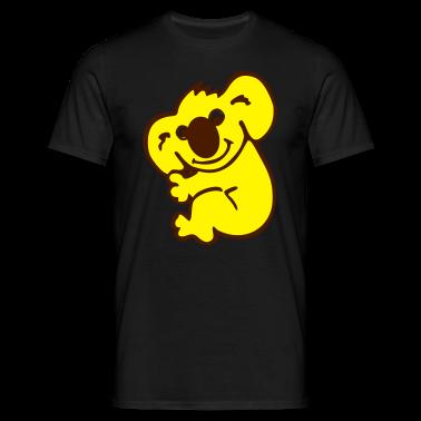 Nero Koala - Australia T-shirt (maniche corte)