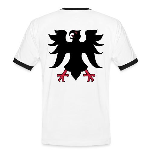 WM/EM - Fan-Shirt - Männer Kontrast-T-Shirt